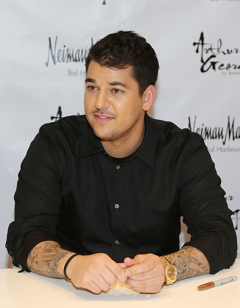 Rob Kardashian presents his Arthur George Socks Collection at Neiman Marcus Bal Harbour at Neiman Marcus | Photo: Getty Images