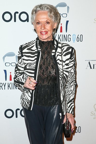 Actor Tippi Hedren attends Larry King's 60th Broadcasting Anniversary Event at HYDE Sunset: Kitchen + Cocktails on May 1, 2017 in West Hollywood, California | Photo: Getty Images