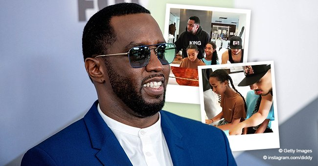 Diddy Shares Video of His Kids Quincy & Chance Playing Beautifully on a Piano for Their Family