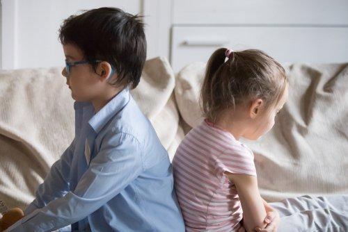 Two unhappy preschoolers.   Source: Shutterstock.
