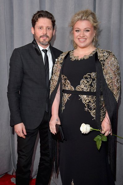 Brandon Blackstock and Kelly Clarkson at Madison Square Garden on January 28, 2018 in New York City. | Photo: Getty Images