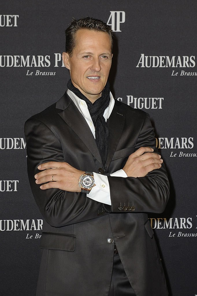 Michael Schumacher assiste au lancement par Audemars Piguet du Royal Oak Offshore Limited Edition à Kraftwerk le 17 octobre 2012 à Berlin, en Allemagne. | Getty Images