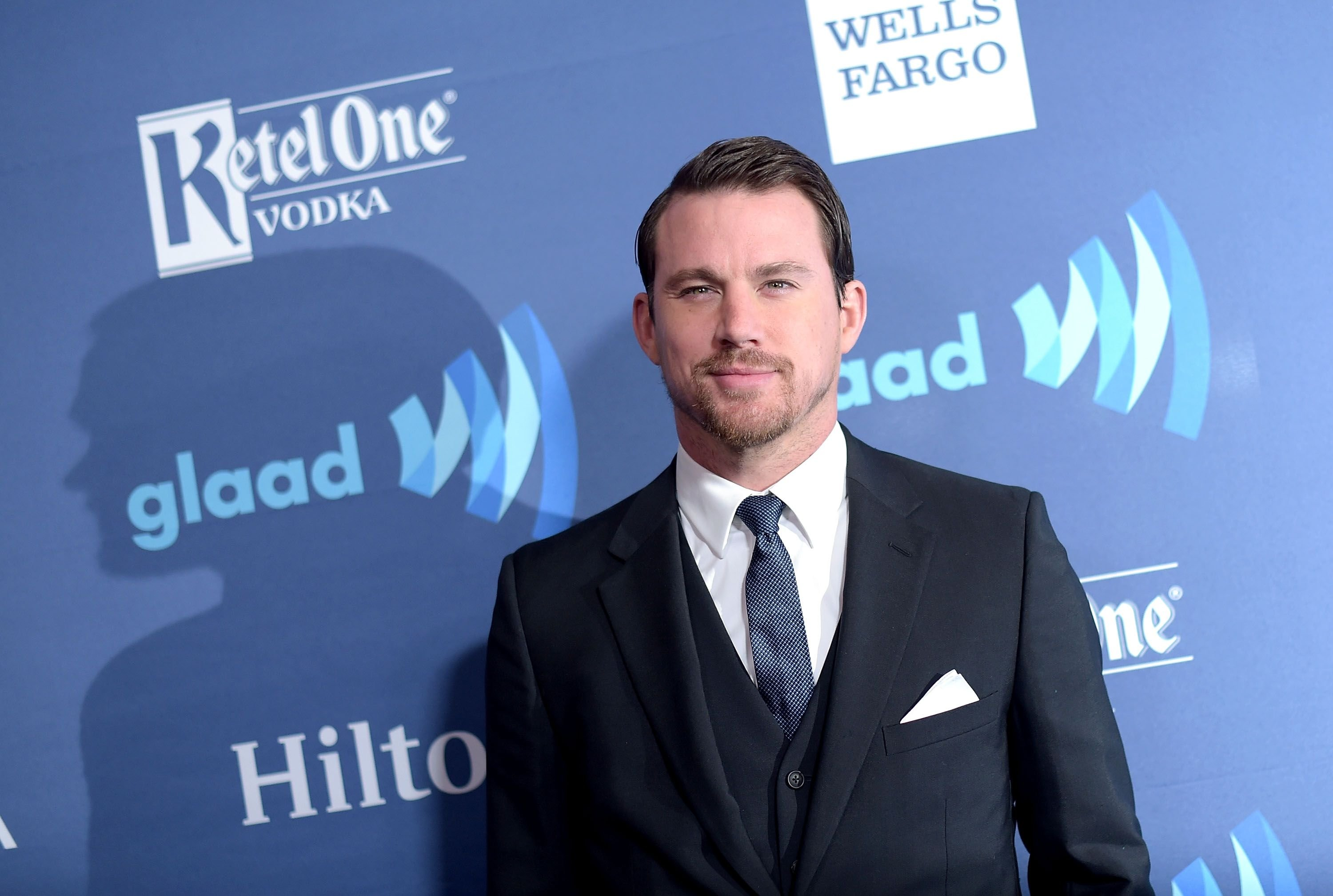 Actor Channing Tatum at the 26th Annual GLAAD Media Awards at The Beverly Hilton Hotel on March 21, 2015 | Photo: Getty Images