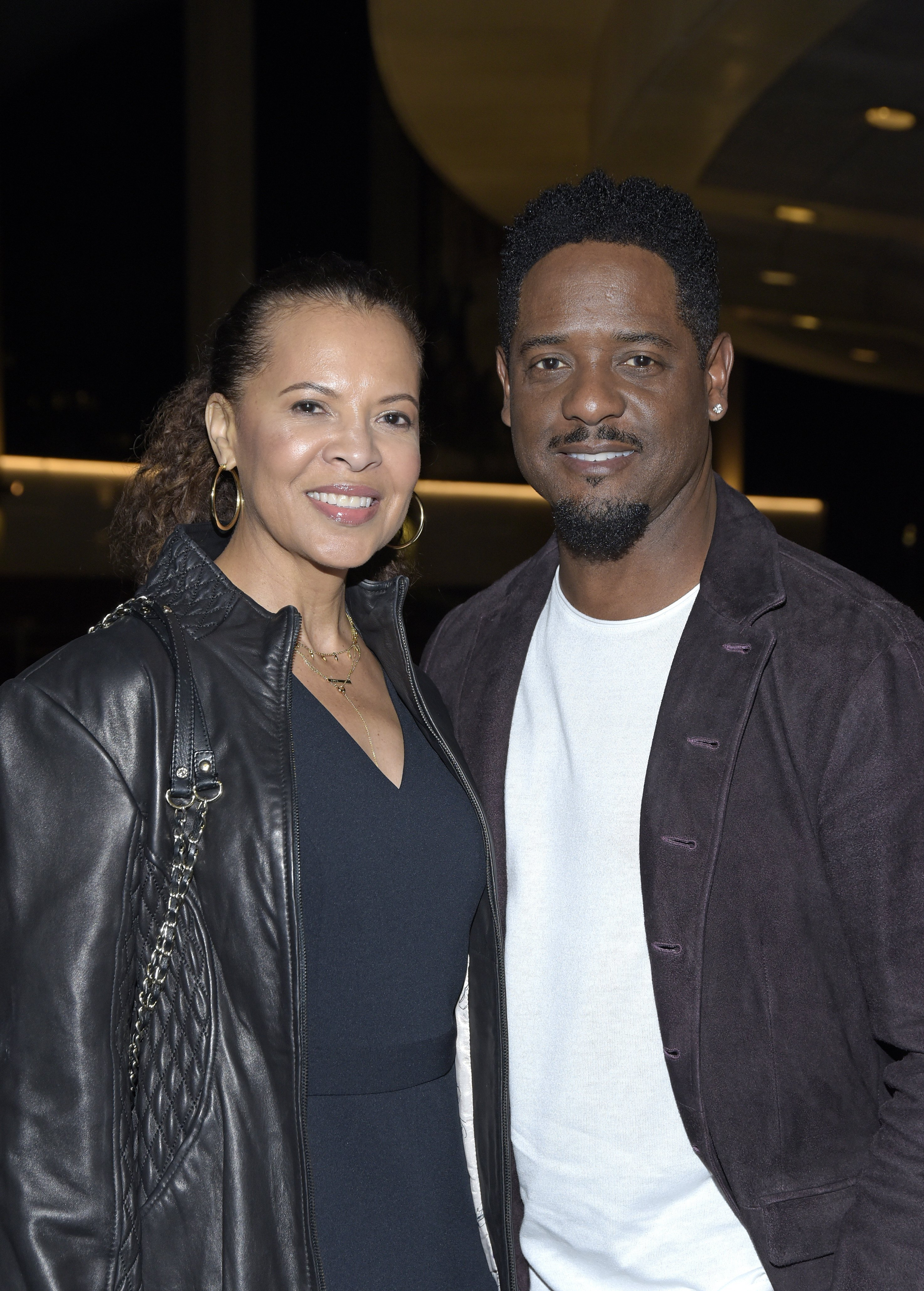 """Desiree DaCosta & Blair Underwood at the opening night of """"Lackawanna Blues"""" on Mar. 13, 2019 in California 