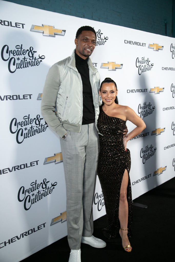 Chris Bosh and Adrienne Bosh attend the 4th Annual Create & Cultivate 100 list| Photo: Getty Images