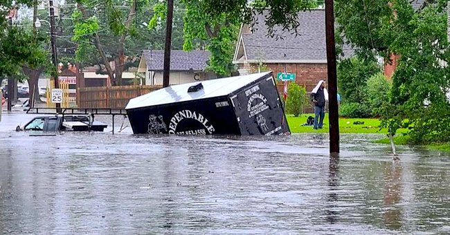 More Than 80 People Affected by Heavy Rain in Lake Charles Successfully Rescued Overnight