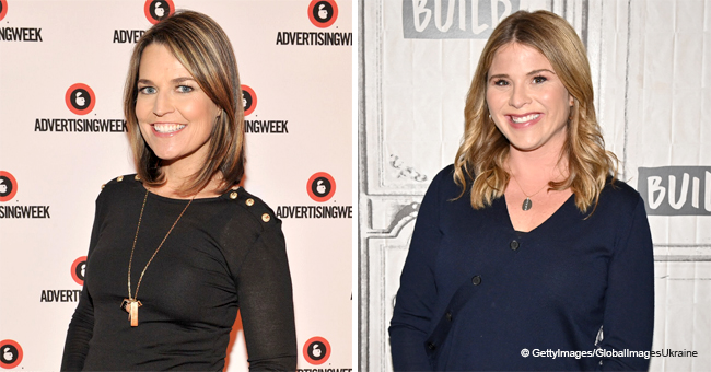 Jenna Bush Hager and Savannah Guthrie Showcase Their Dance Moves for 'GetFitTODAY' challenge