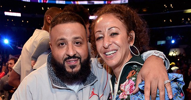 DJ Khaled & His Wife Nicole Tuck Look Cute Dancing in Cool Matching Animal-Print Outfits