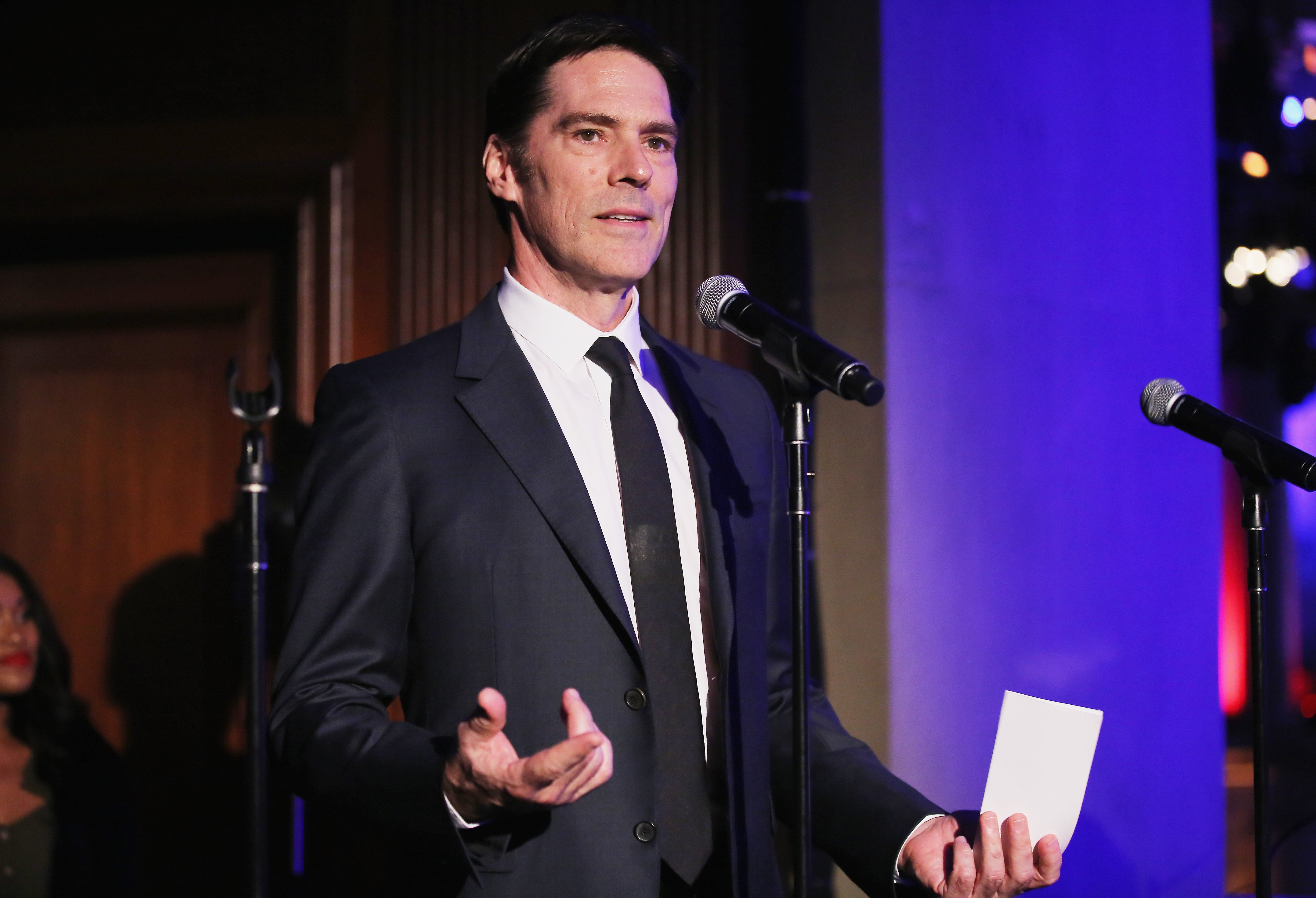 Thomas Gibson on May 31, 2018 at Gotham Hall in New York City | Source: Getty Images