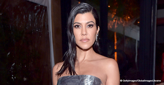 Kourtney Kardashian Turns Heads in Sheer $690 Bodysuit, but Fans Are Unimpressed with Her New Site
