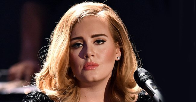 La chanteuse Adele Laurie Blue Adkins MBE.   Photo : Getty Images