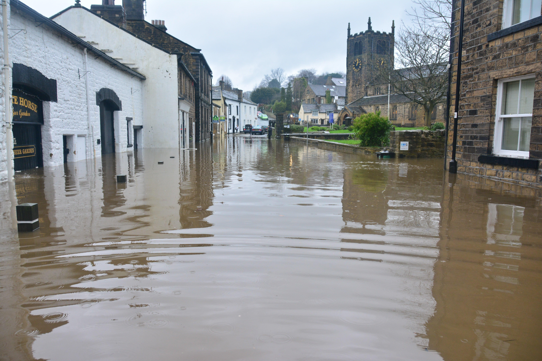 A flooded neighborhood | Source: Unsplash.com