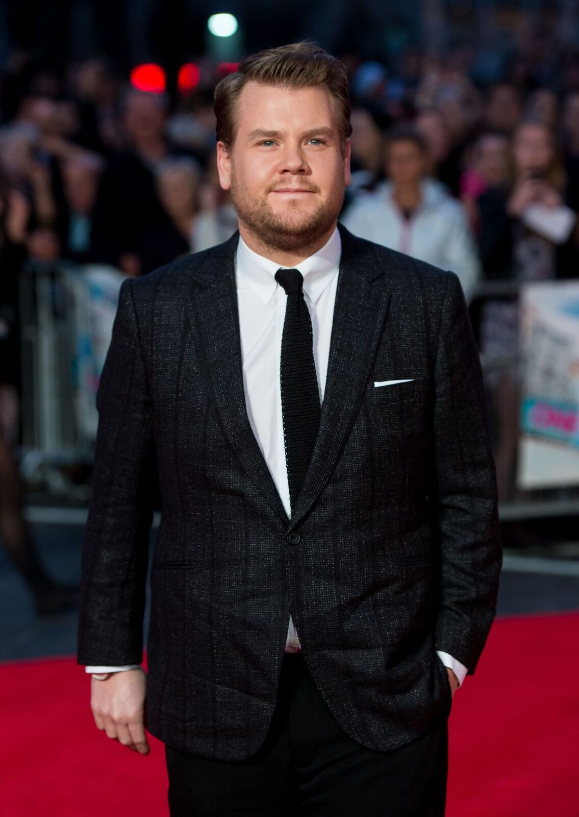 "James Corden at the European premiere of ""One Chance"" at The Odeon Leicester Square on October 17, 2013, in London, England 