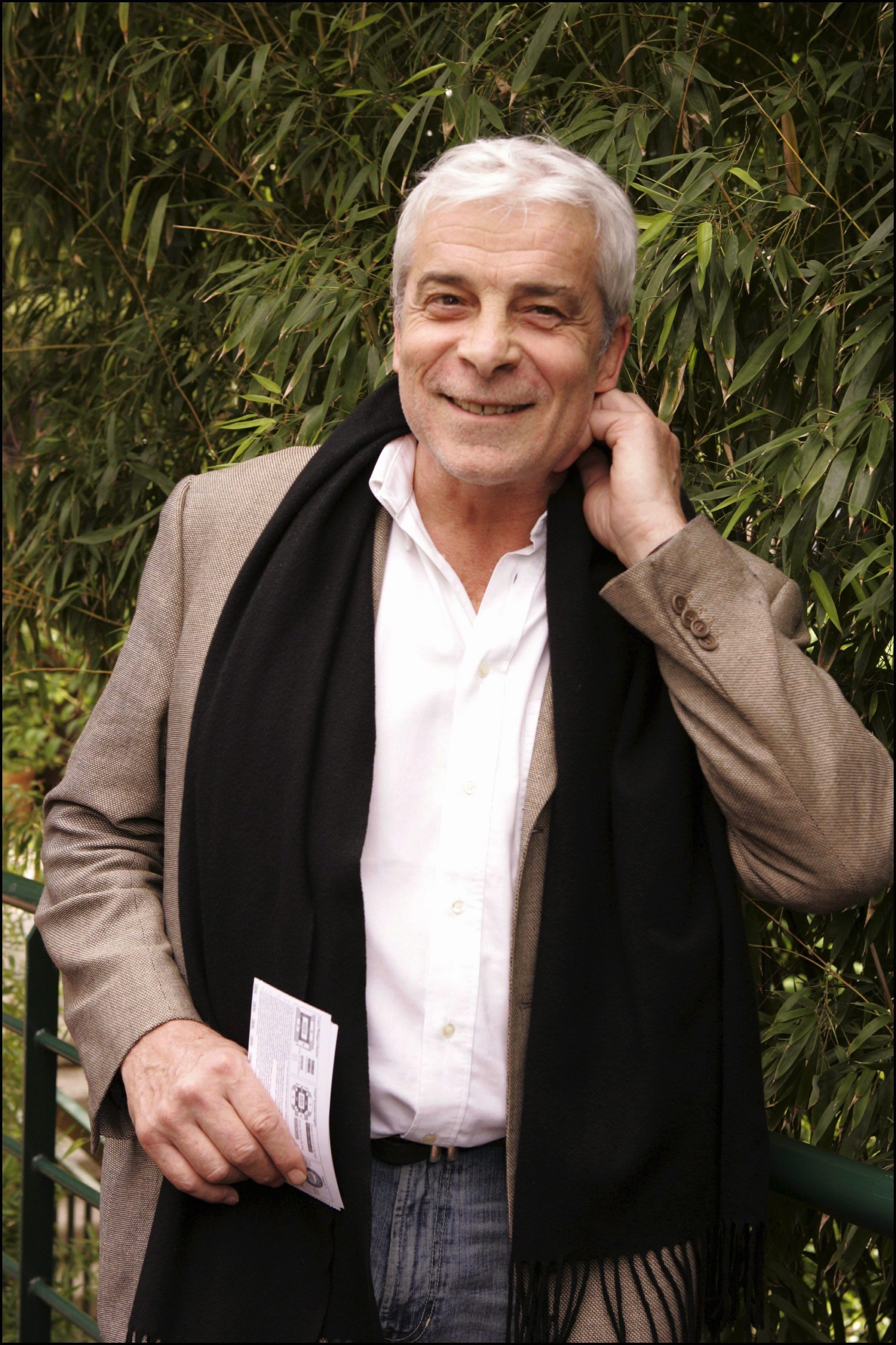 Jacques Weber Juin 2005 à Paris | Photo : Getty Images