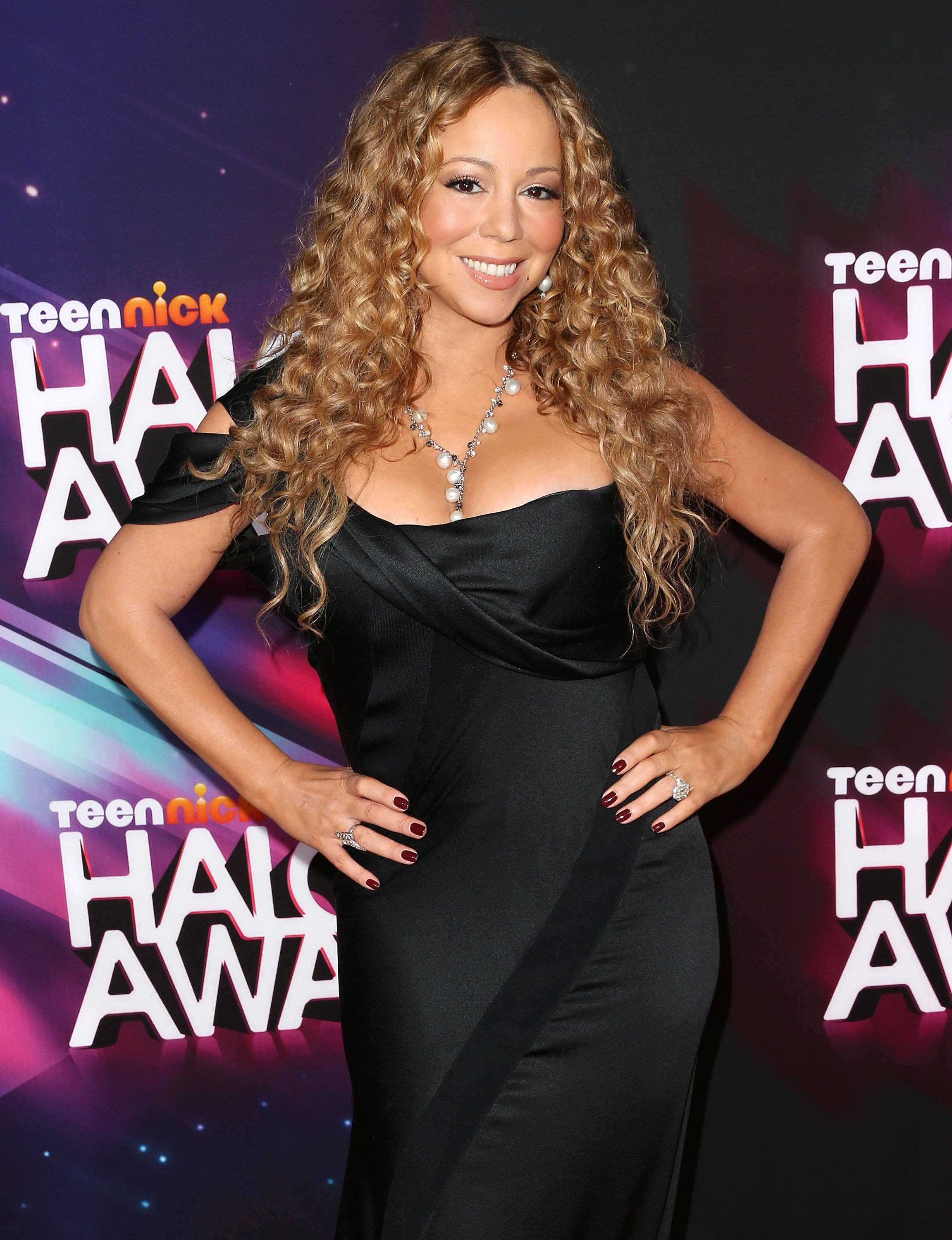 Mariah Carey attends TeenNick HALO Awards at The Hollywood Palladium on November 17, 2012, in Los Angeles, California. | Source: Getty Images.