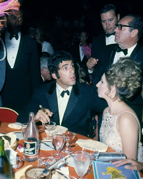 Elliott Gould and Barbra Streisand at the premiere of William Wyler's 'Funny Girl', New York City | Photo: Getty Images