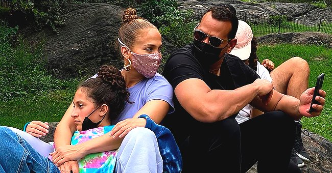 Jennifer Lopez Rides a Bike during Family Trip to Central Park – See How They Kept Themselves Protected