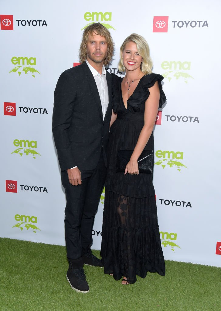 Eric Christian Olsen and Sarah Wright Olsen attend the 2nd Annual Environmental Media Association (EMA) Honors Benefit Gala on September 28, 2019 in Pacific Palisades, California. | Source: Getty Images