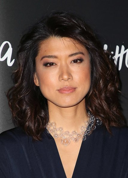 Grace Park at LACMA on September 22, 2018 in Los Angeles, California. | Photo: Getty Images