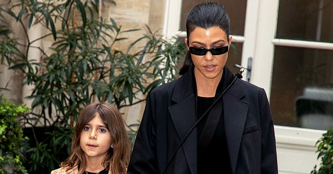 Penelope Disick and Kourtney Kardashian pictured in Paris, France in 2020.   Photo: Getty Images