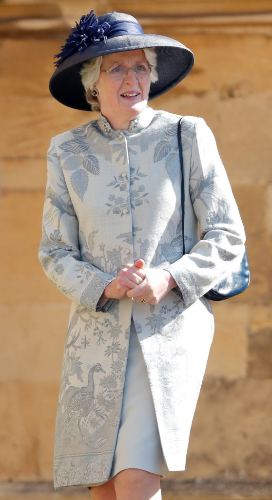 Image Credits: Getty Images/ Lady Jane Fellowes attends the wedding of Prince Harry to Ms Meghan Markle