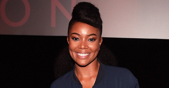 Gabrielle Union Shows Daughter Wearing Yellow Bodysuit & Points Out Long Legs like Her Husband's