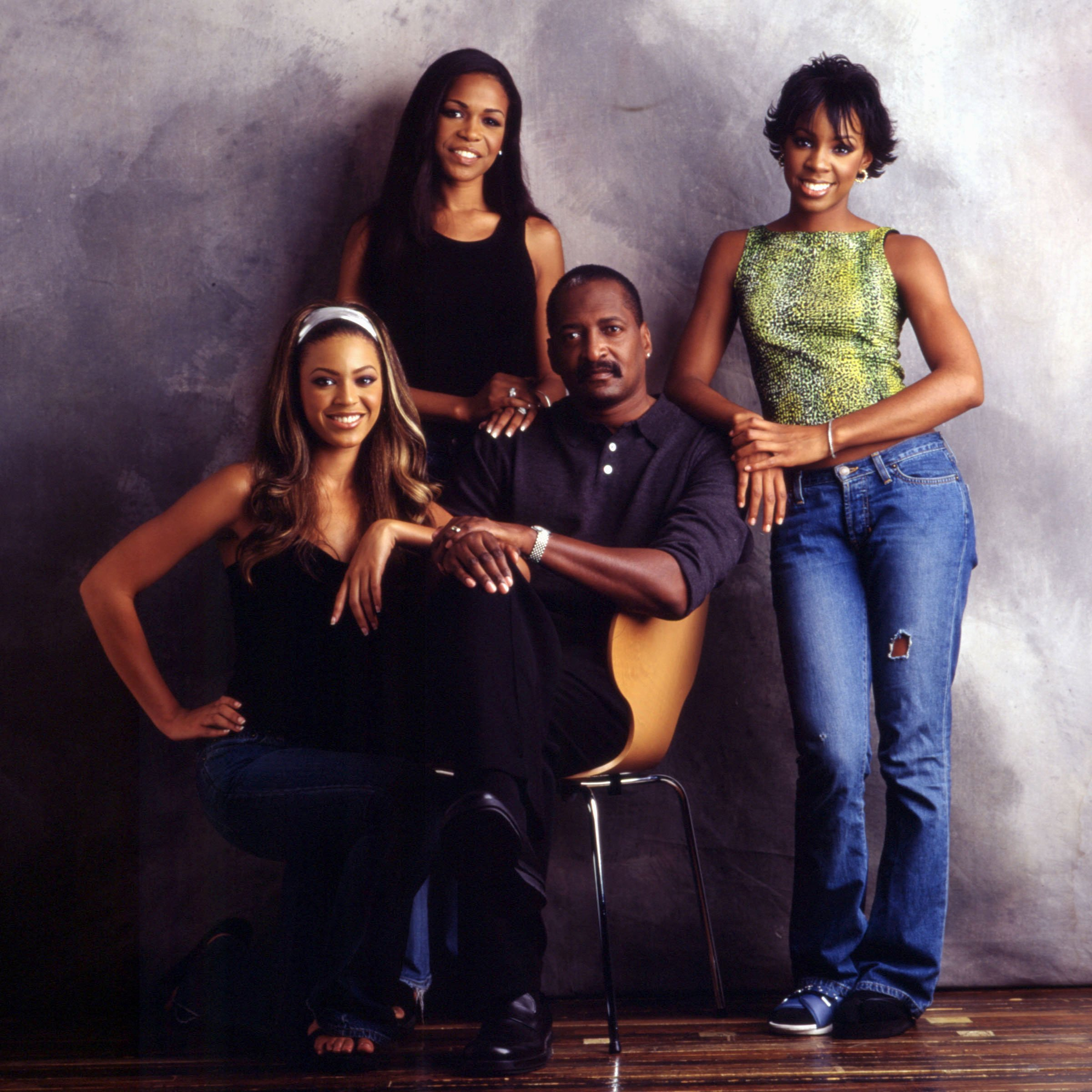 Destiny's Child and Matthew Knowles pose for a portrait October 30, 2000 in Houston, TX. | Source: Getty Images