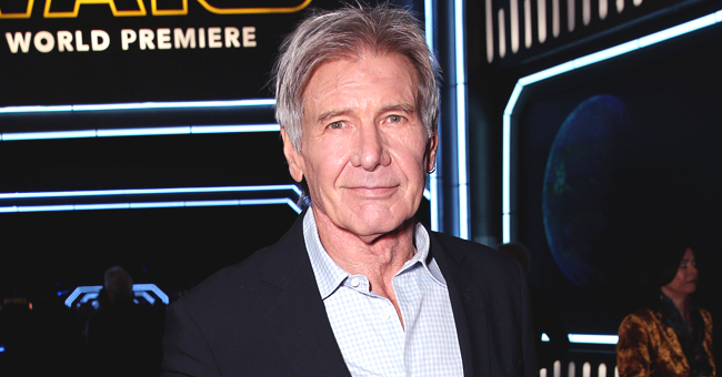 Harrison Ford Enjoys a Nightout with Wife Calista Flockhart and Their Son