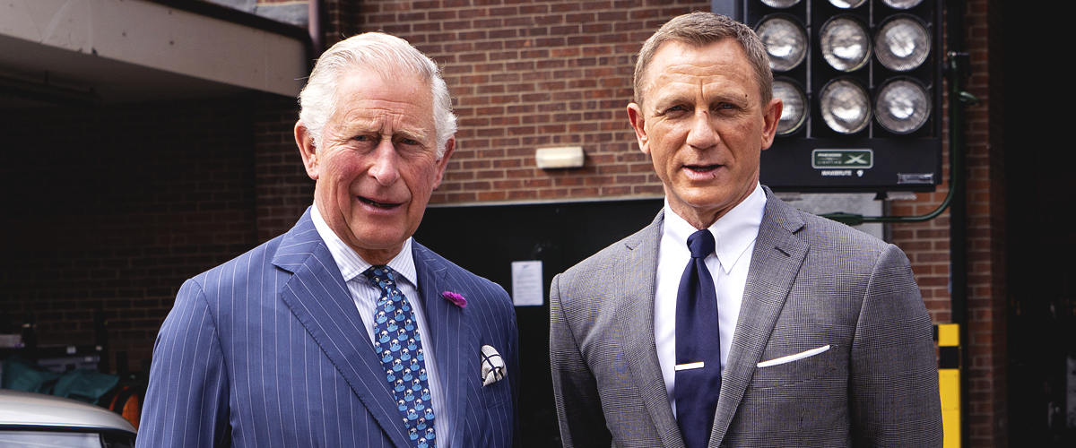 Prince Charles Reportedly Might Star in New James Bond Movie after Visiting the Set