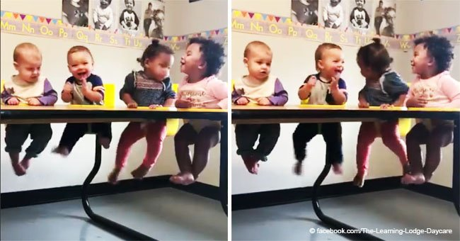 Heartwarming video of babies entertaining each other at Texas daycare went viral in 2018