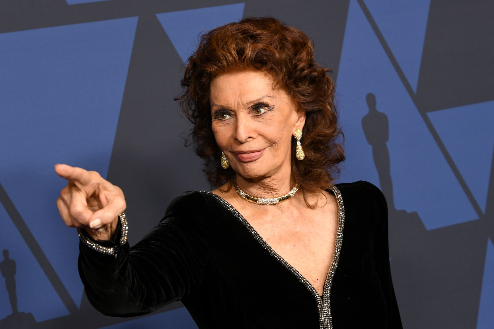 Sophia Loren at the Academy of Motion Picture Arts And Sciences' 11th Annual Governors Awards at The Ray Dolby Ballroom at Hollywood & Highland Center on October 27, 2019 | Photo: Getty Images