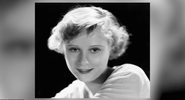 Promotional photo of Peg Entwistle in the late 1920s or early 1930s   Photo: YouTube/Facts Verse