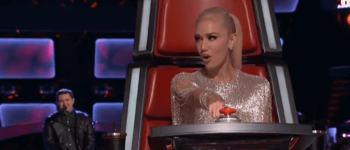 Gwen Stefani on The Voice. | Source: YouTube/ Disney Shows and Disney Movie Trailers