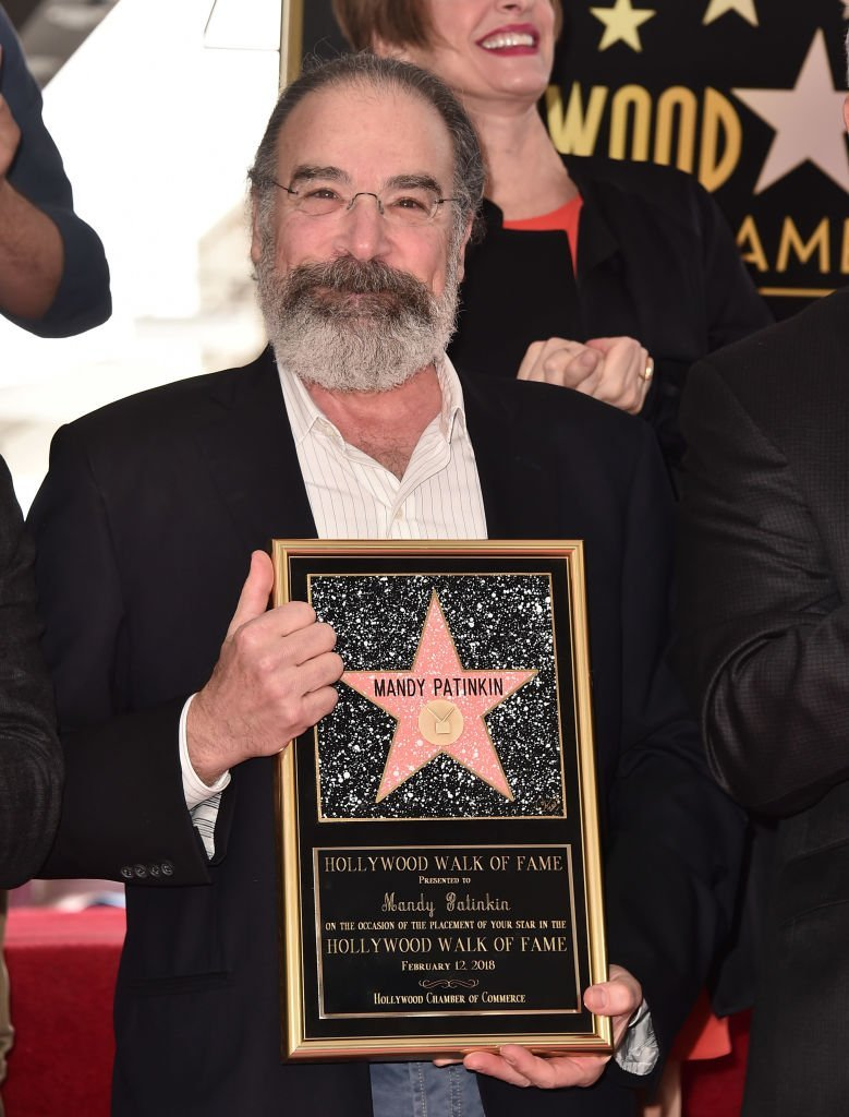 Mandy Patinkin attends a ceremony honoring him with the 2,629th star on the Hollywood Walk of Fame | Getty Images