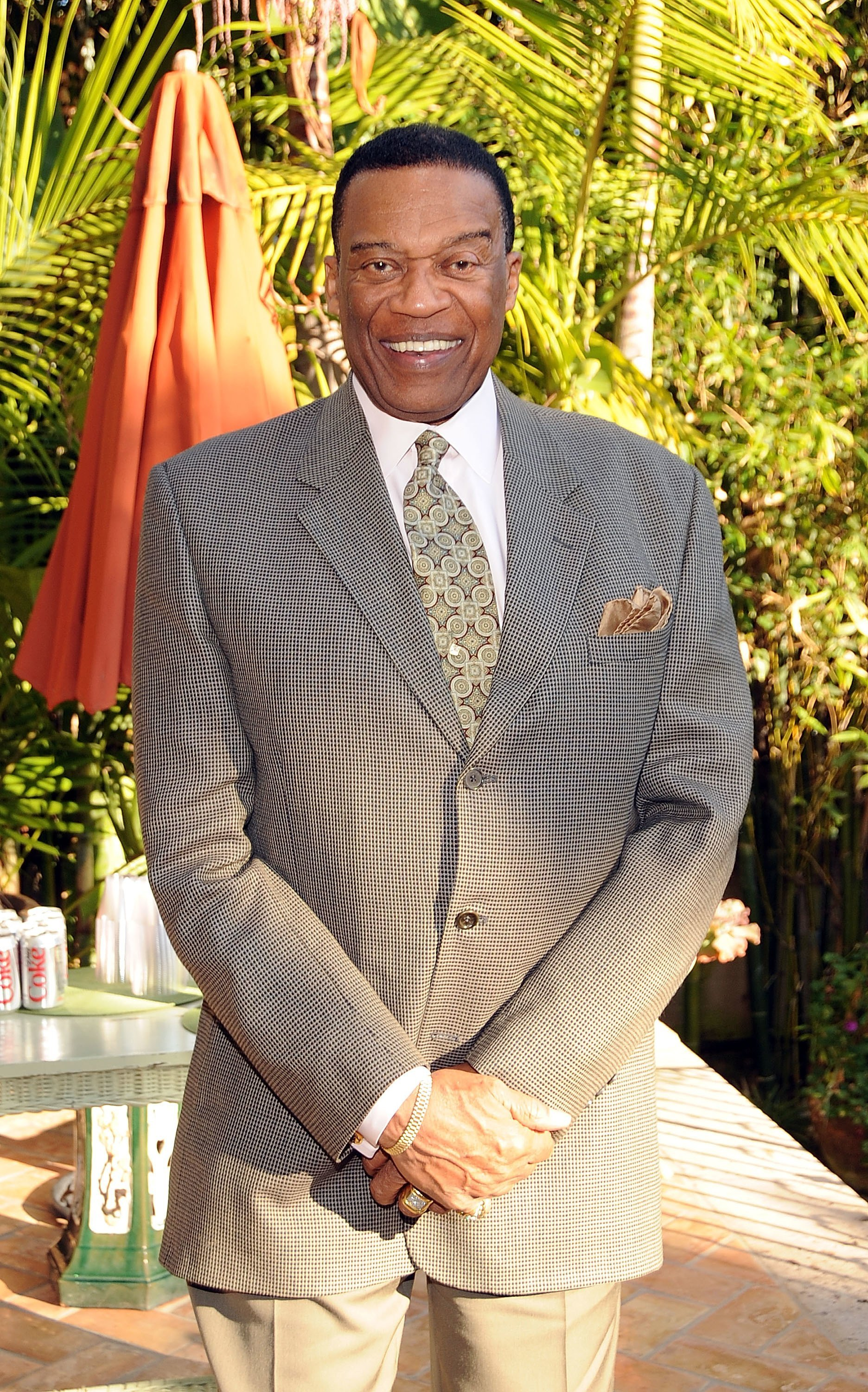 Bernie Casey attends Membership First's meet and greet meeting at a private residence. | Source: Getty Images