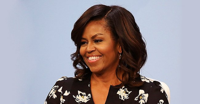 Michelle Obama Shows off Her Cute Black and White Pet Dogs BO and Sunny