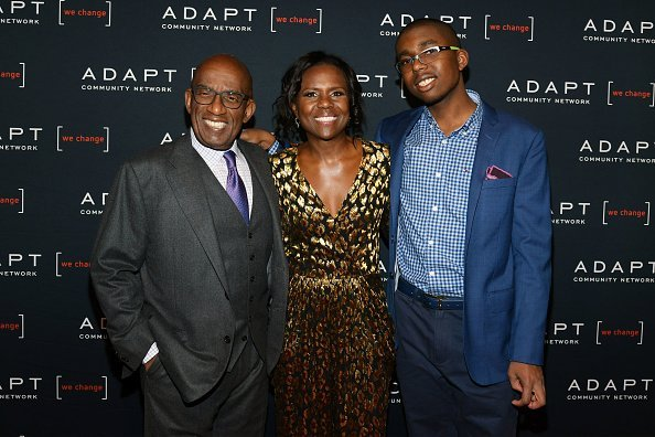 Al Roker, Deborah Roberts and Nicholas Albert Roker attend the 2019 2nd Annual ADAPT Leadership Awards | Photo: Getty Images