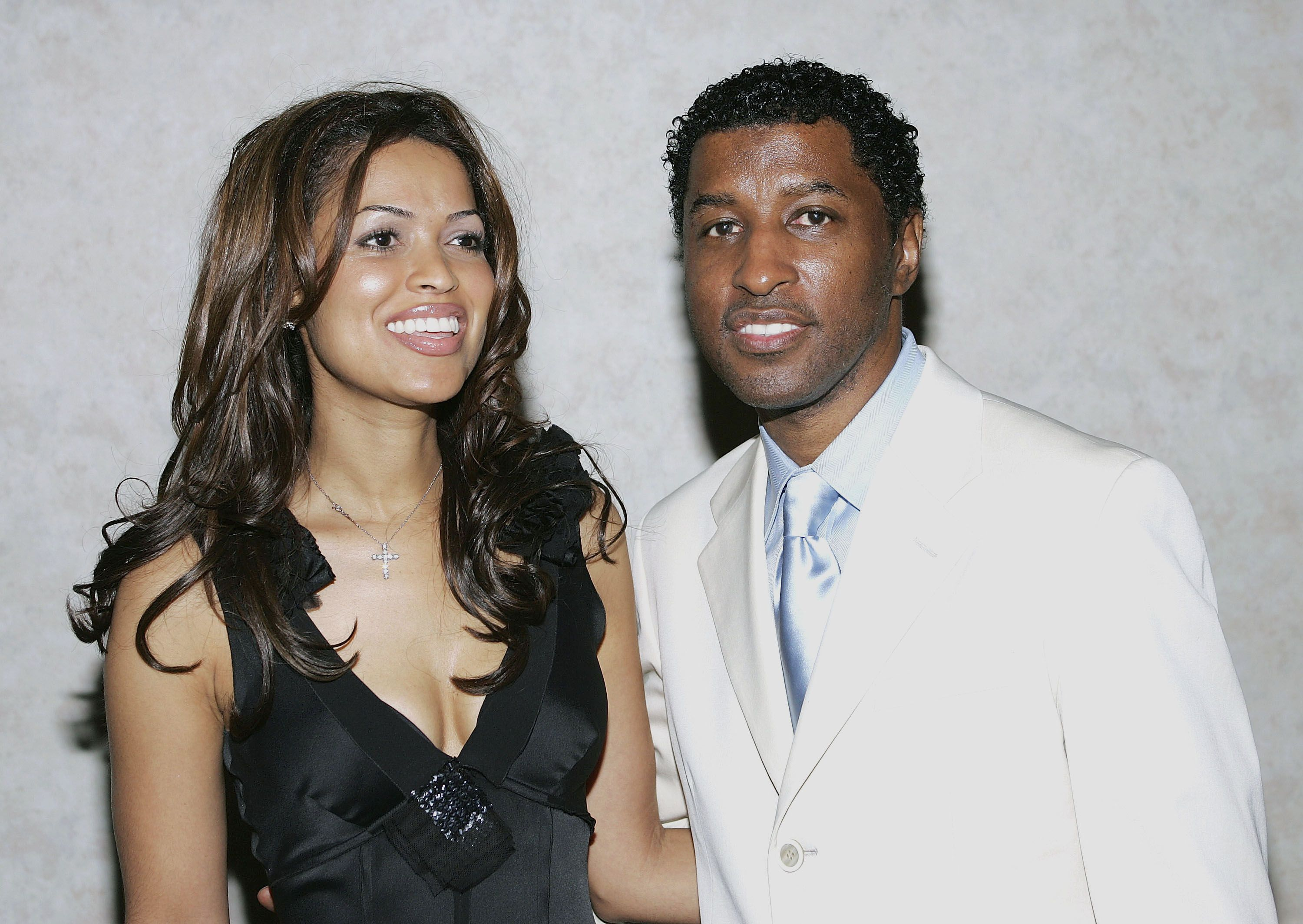 "Tracey E. Edmonds and Kenneth ""Babyface"" Edmonds attend the California National Organization for Women Fourth Annual Excellence In Media Awards Dinner Honoring Outstanding Women at the Beverly Hilton Hotel on March 17, 2005 in Beverly Hills, California. 