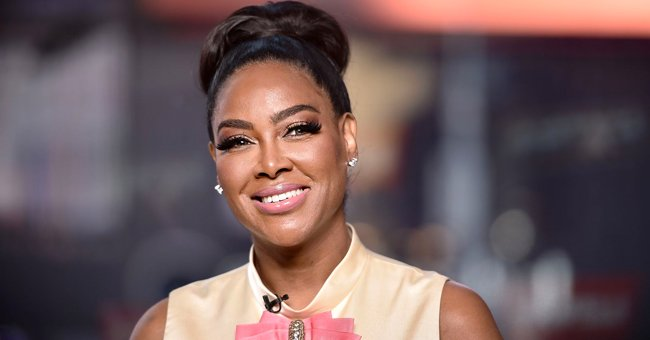 Fans Fawn over Kenya Moore's 2-Year-Old Daughter's Fluffy Hair & Reaction Playing with Butter