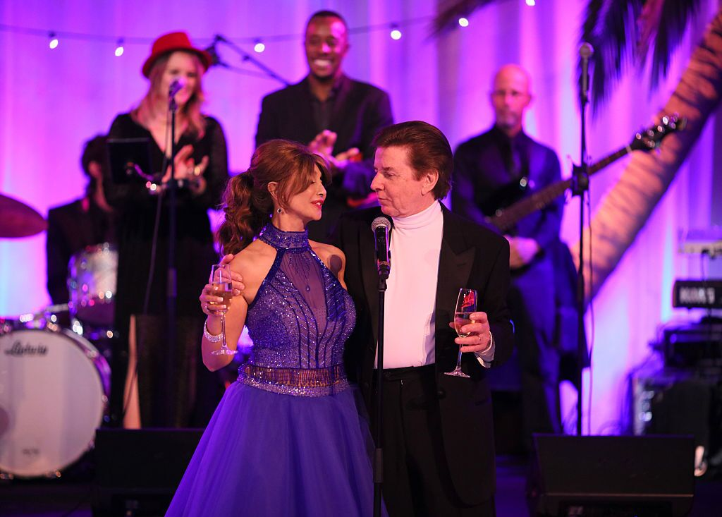 Brigitte Sherman and singer Bobby Sherman attend the Brigitte and Bobby Sherman Children's Foundation's 6th Annual Christmas Gala and Fundraiser | Getty Images