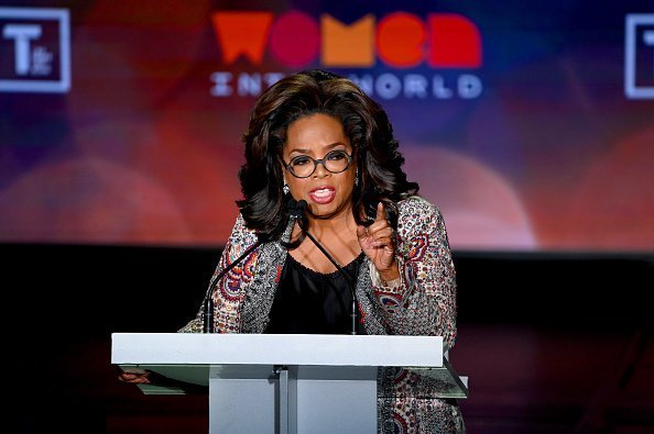 Oprah Winfrey at David H. Koch Theater at Lincoln Center on April 10, 2019 in New York City | Photo: Getty Images
