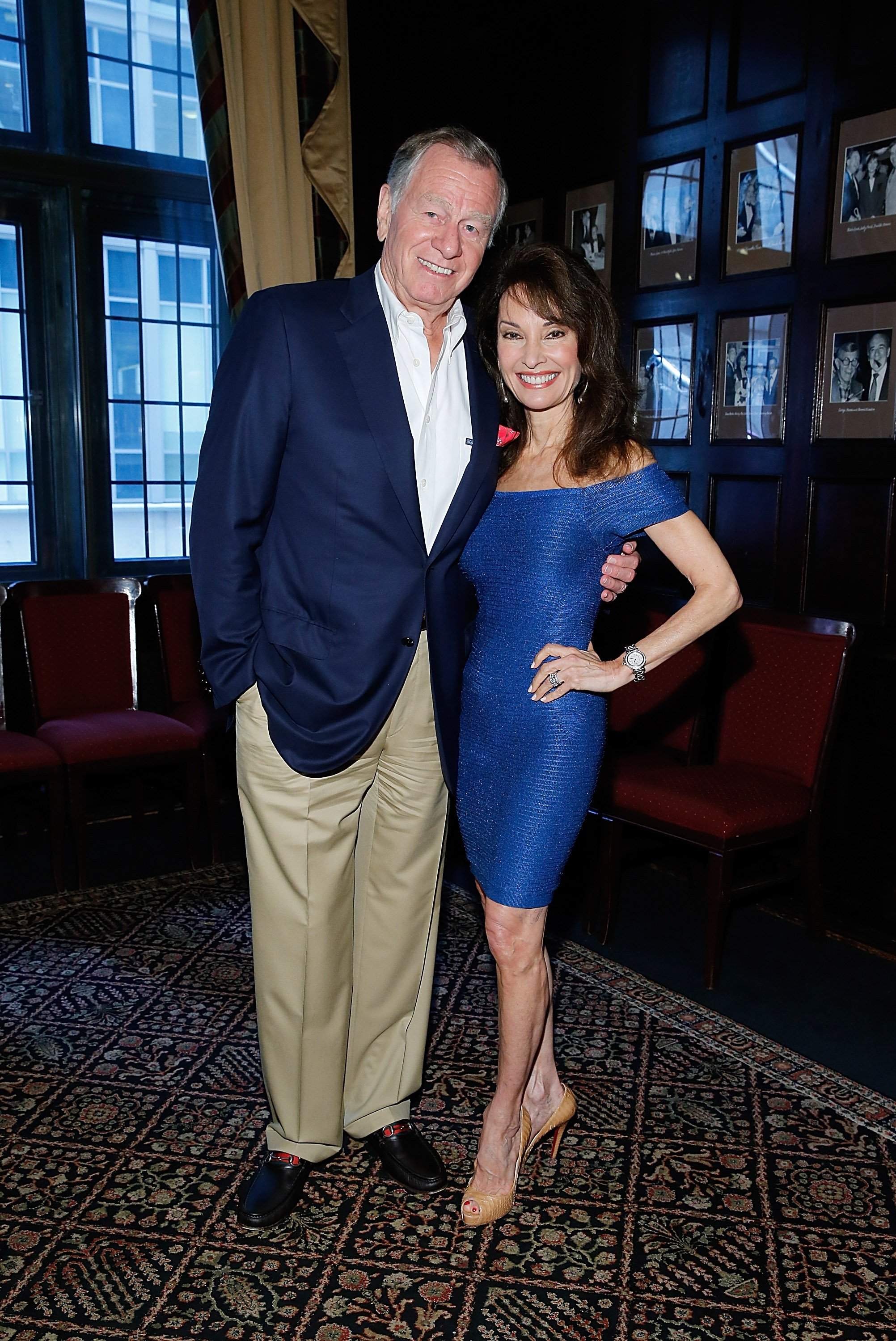 Helmut Huber and Susan Lucci attend a book launch event at New York Friars Club on June 3, 2014 in New York City | Photo: Getty Images