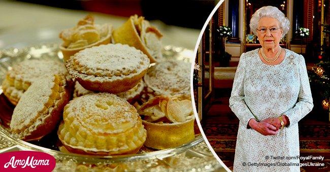 Jetez un coup d'œil à I' intérieur du menu de Noël de la Reine, qui comprend 1 200 mince pies et de délicieux biscuits