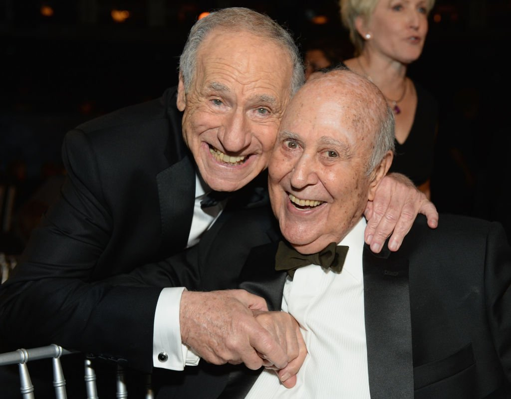 Mel Brooks and actor Carl Reiner attend 41st AFI Life Achievement Award Honoring Mel Brooks| Photo: Getty Images