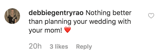 "Fan comments on ""Today"" show Instagram post that Hoda Kotb's mother, Sameha Kotb has helped pick out her wedding dress 