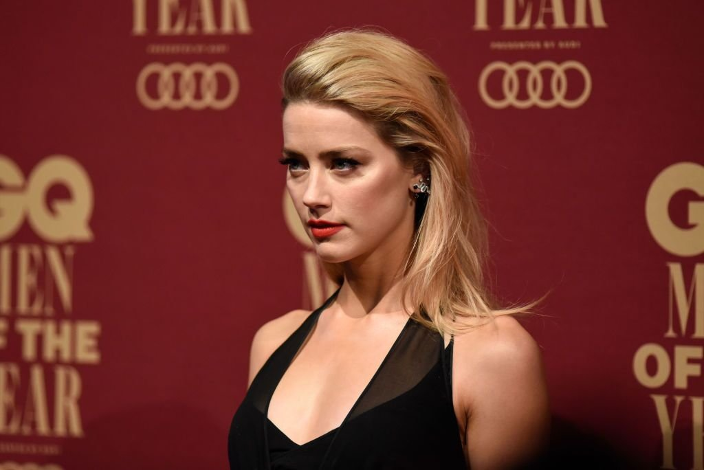 Amber Heard attends the GQ Men Of The Year Awards. | Source: Getty Images