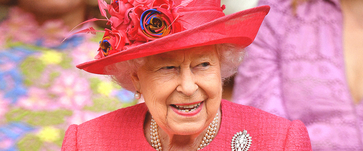 Queen Elizabeth II Looks Radiant at Lady Gabriella's Wedding