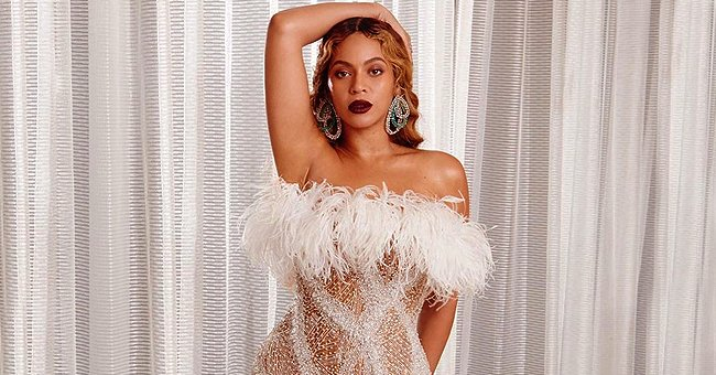 Beyoncé Puts Legs & Curves on Display in Shimmery White Dress with High Slit for 2nd Night of Shawn Carter Foundation Gala