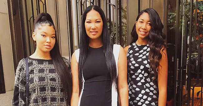 Kimora Lee Simmons & Daughter Aoki Lee's Posts Featuring Adopted Son Gary Attract Negative Criticism