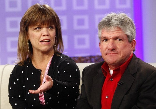 "Amy Roloff and Matt Roloff appear on NBC News' ""Today"" show on February 12, 2012. 